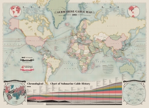 Global Map of Submarine Cables