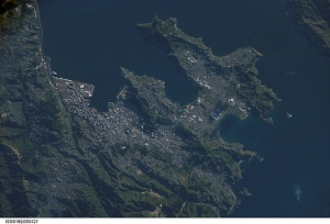 wellington from space